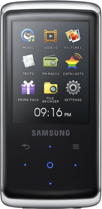 Lettore Mp3 Samsung YP-Q2